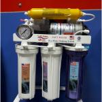 دستگاه تصفیه آب سافت واتر در حال نصب
