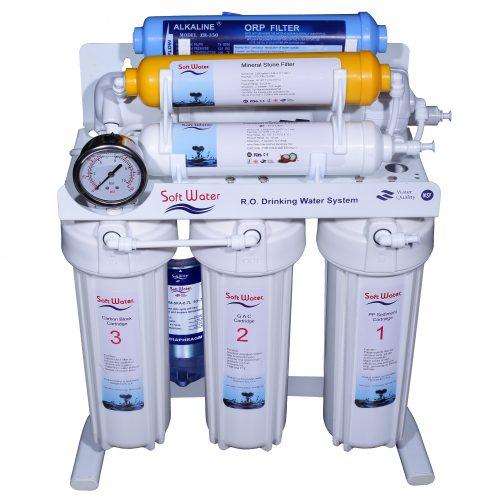 سافت واتر 8 مرحله ای (محافظ+اکسیژن ساز)